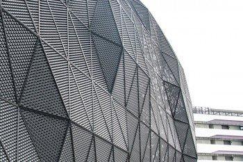 Streckmetall Gitterfassade